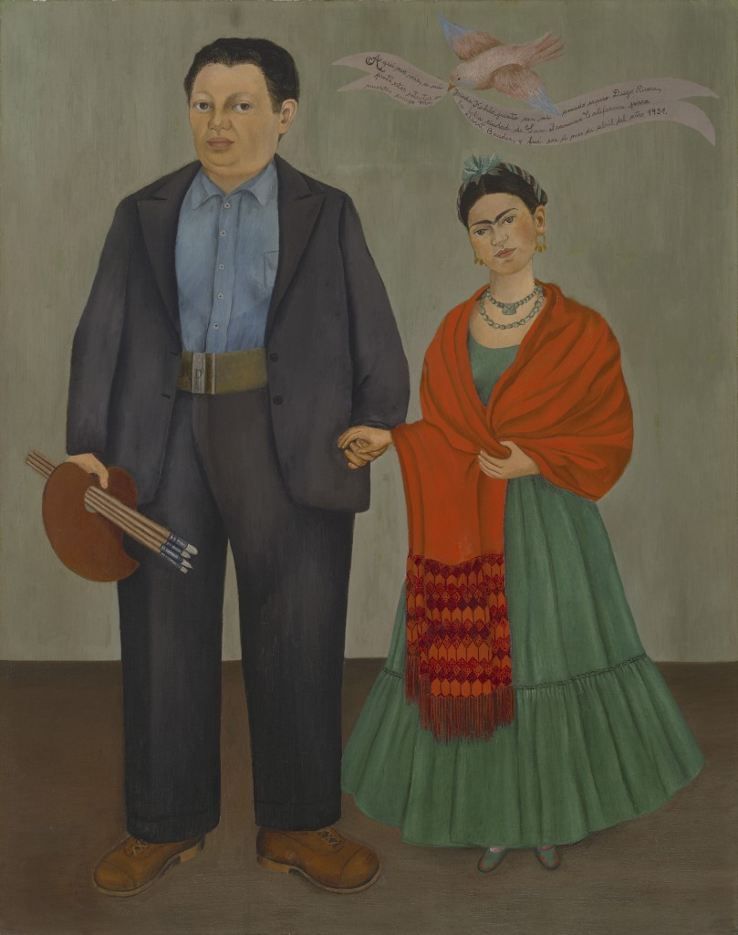 Frieda and Diego Rivera - Frida (Frieda) Kahlo 2