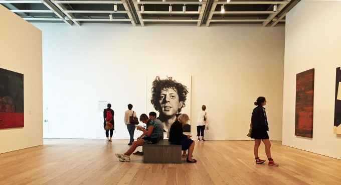 Chuck Close Installation