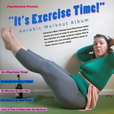It's Exercise Time album cover Photo by Jessica Freylinghuysen