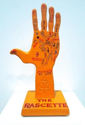 MCA7 wooden hand