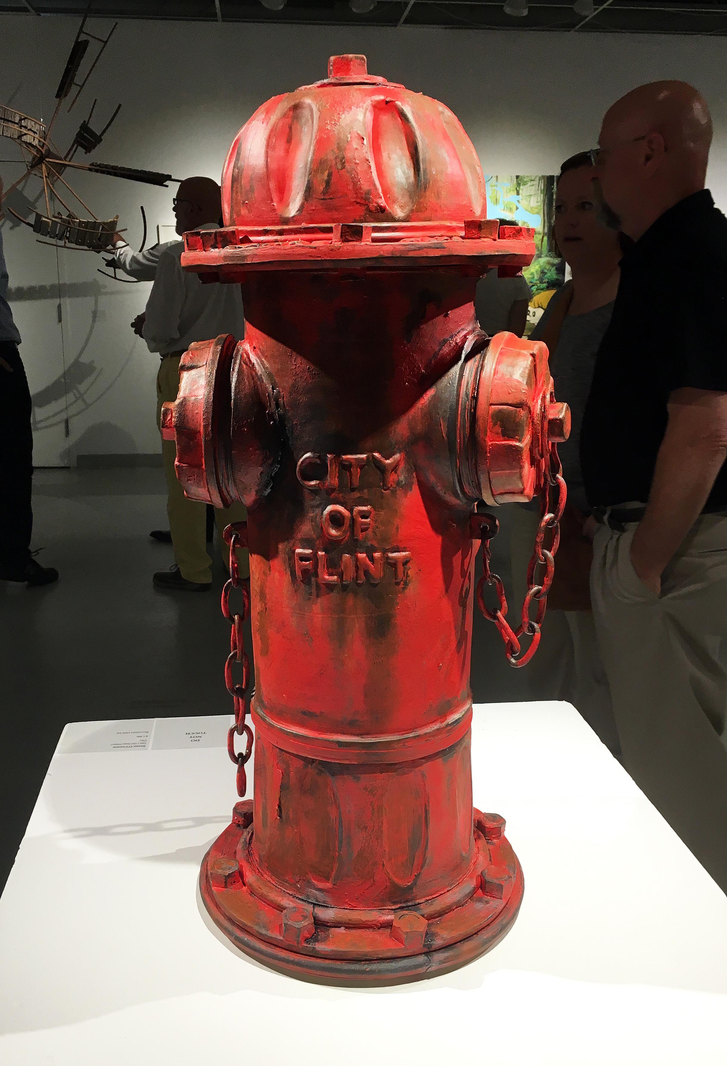 Clay Hydrant